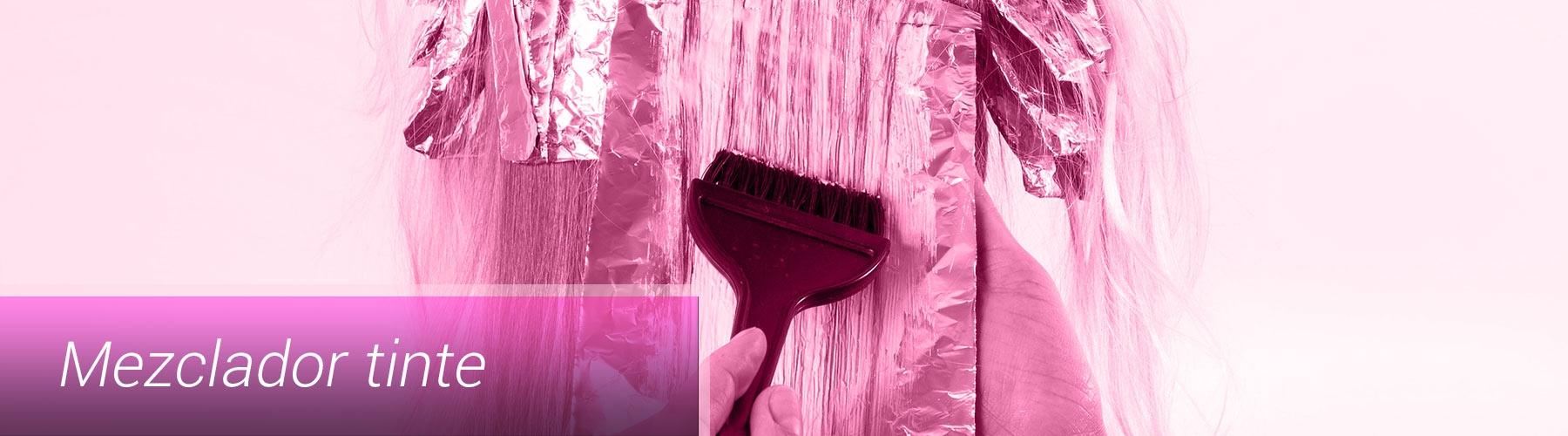Mezclador tinte recargable