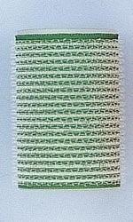BOLSA 3 U. BUCLES VELCRO VERDES DIAMETRO 40mm
