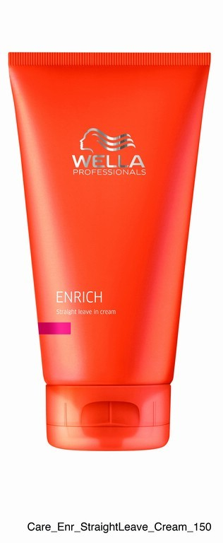 SUAVIZANTE WELLA ENRICH STRAIGHT LEAVE IN CREAM 150ml