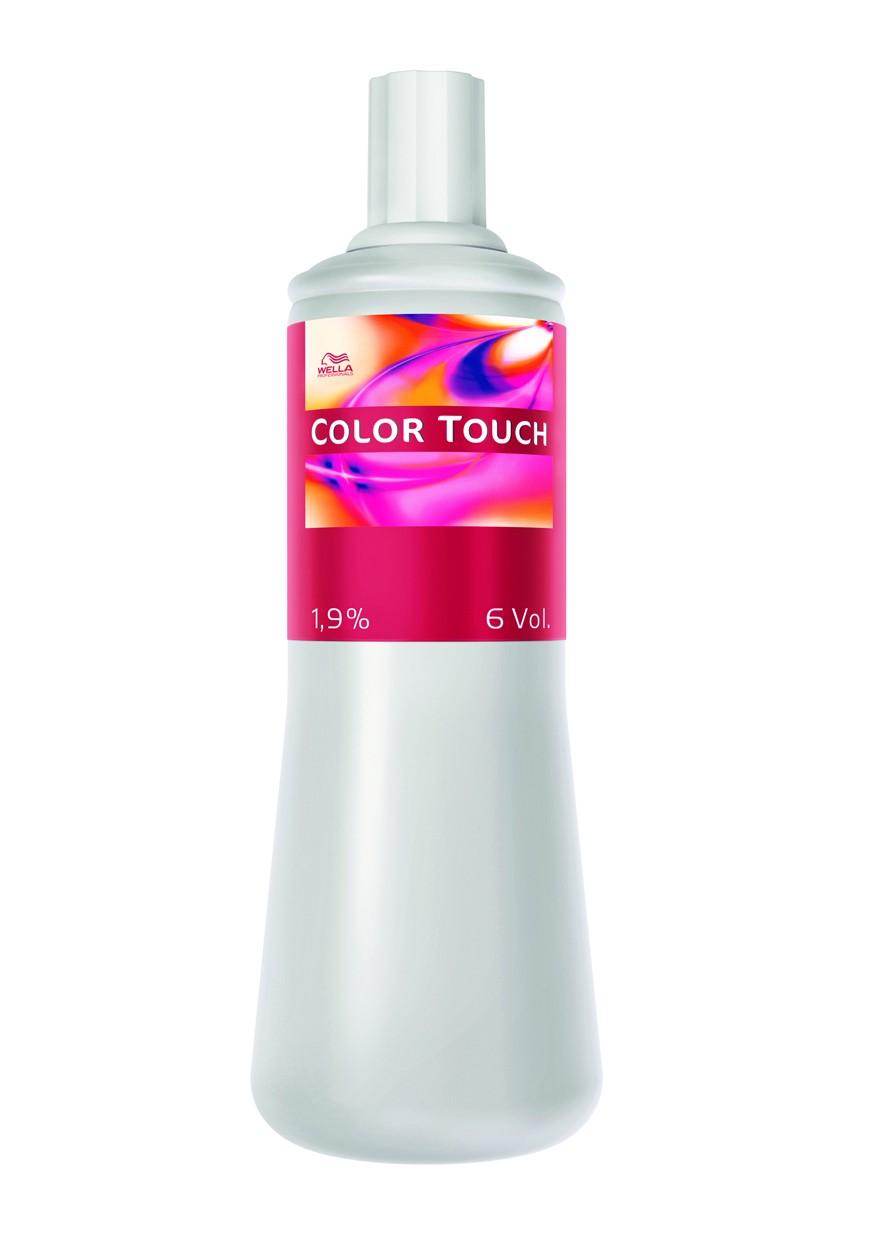 Emulsion Revelador Color Touch Wella  1 Lit. 1.9% 6vol