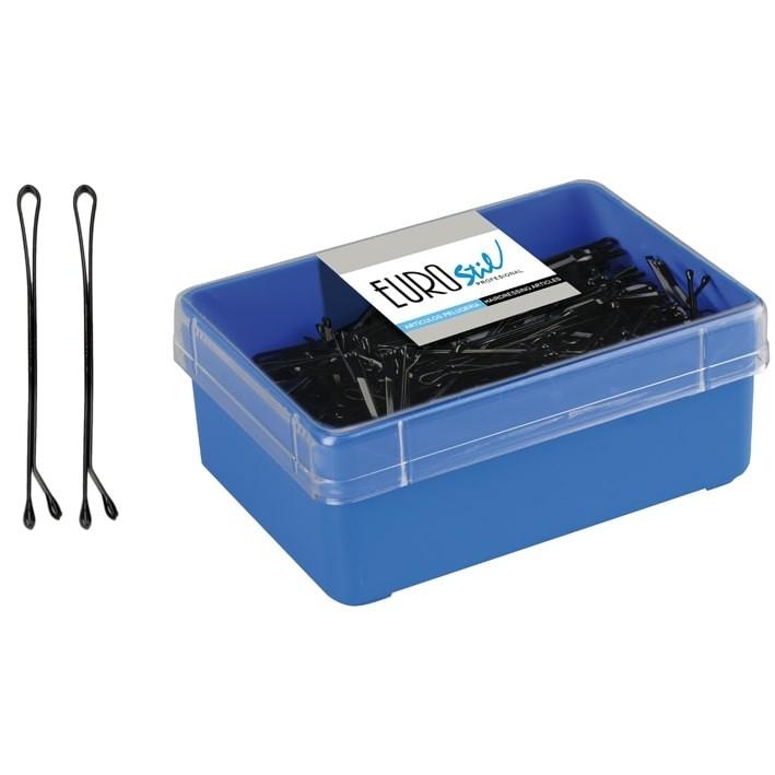 caja 300 clips negro pequeño