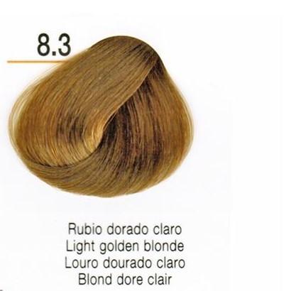 Tinte En Crema Risfort Color Rubio Dorado Claro 8.3