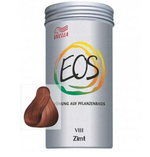 coloración natural EOS wella canela