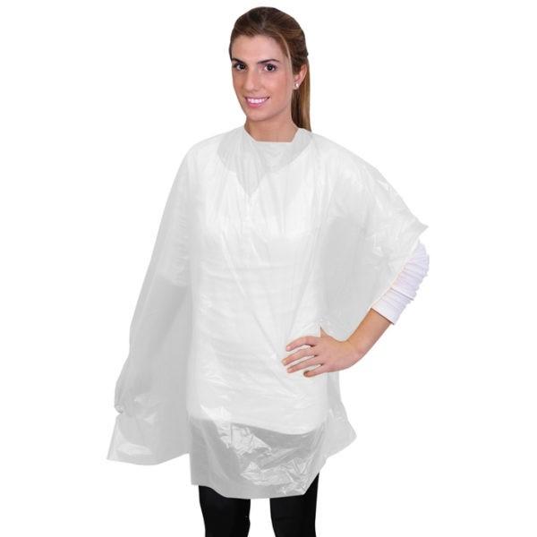 pack 50 capas desechables color blanco