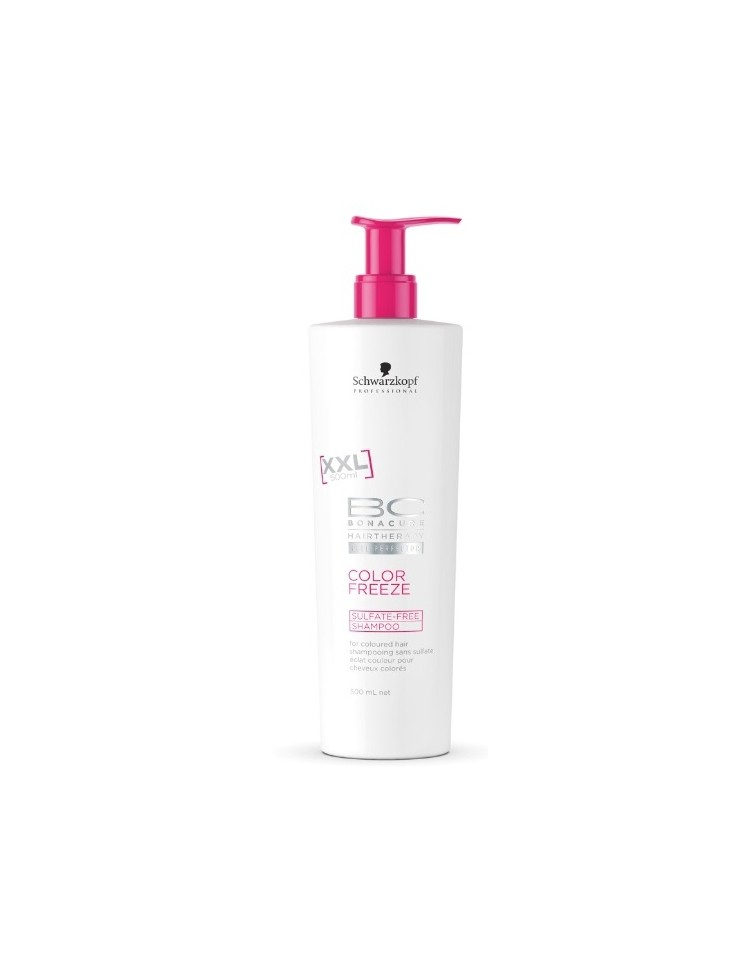 Champu sin Sulfatos - Bonacure Color Freeze Schwarzkopf 500ml