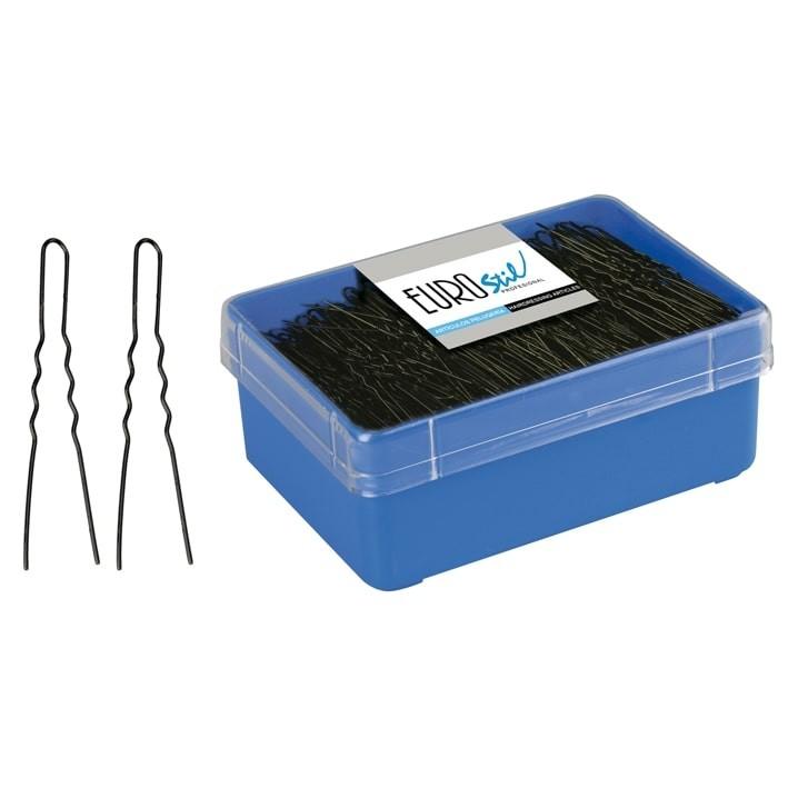 caja 400 horquillas invisibles negro