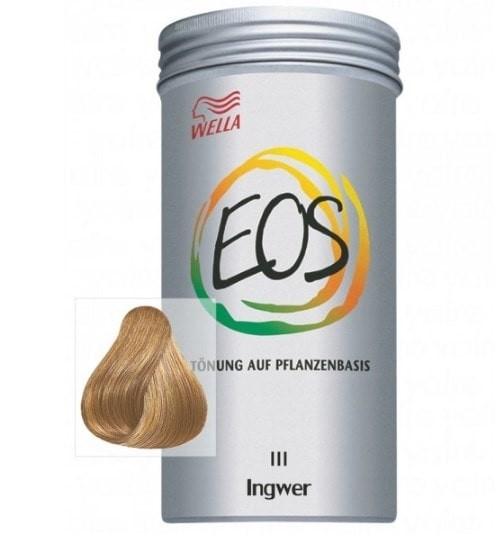 coloración natural EOS wella jengibre