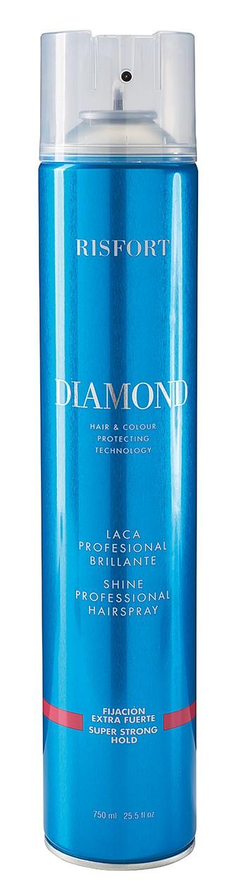 Laca spray extra fuerte Ris Fort Diamond