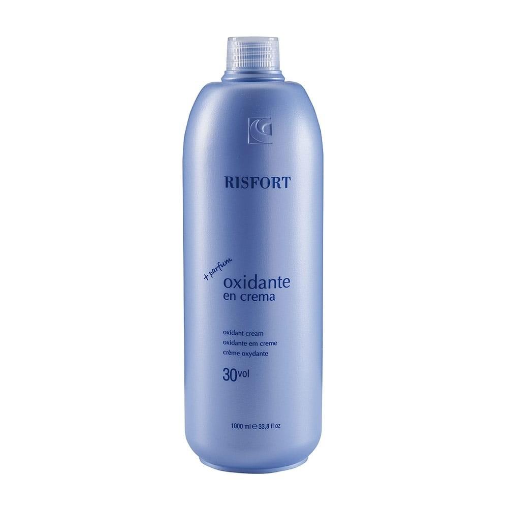 agua oxigenada en crema 30v 1L ris fort