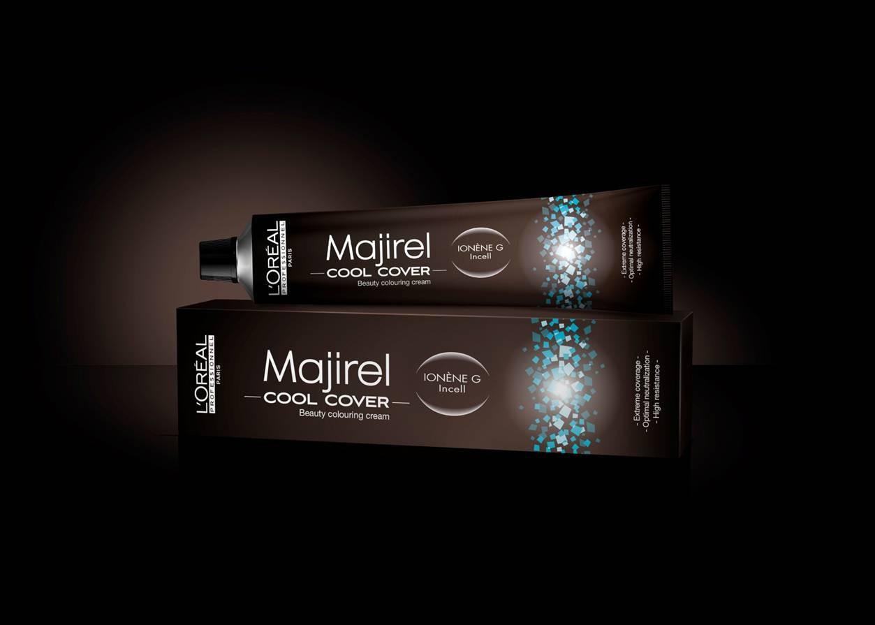Tinte Majirel L'oreal Cool Cover Nº 7,1