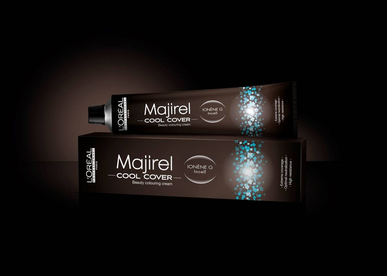 Tinte Majirel L'oreal Cool Cover Nº 6,3