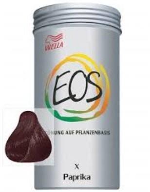 coloración natural EOS wella paprika