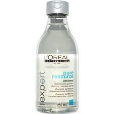 Champu L'oreal Pure Resource 250ml