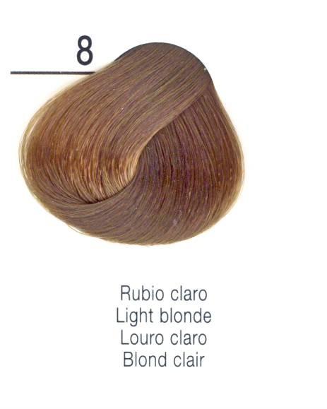 TINTE EN CREMA RISFORT COLOR RUBIO CLARO