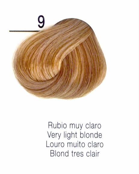 TINTE EN CREMA RISFORT COLOR RUBIO MUY CLARO