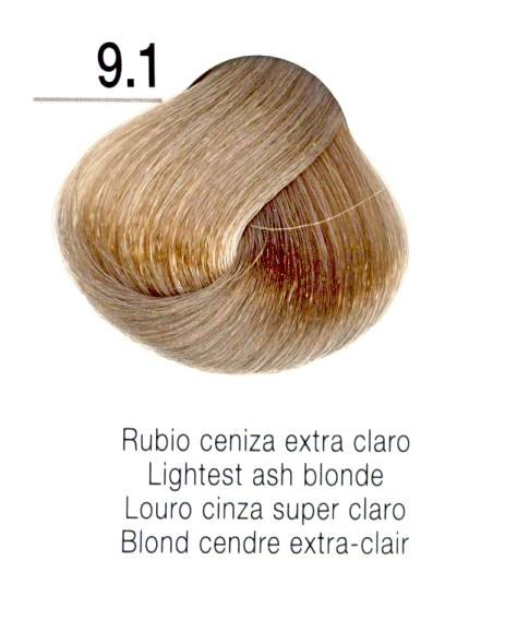 TINTE EN CREMA RISFORT COLOR RUBIO CENIZA EXTRA CLARO