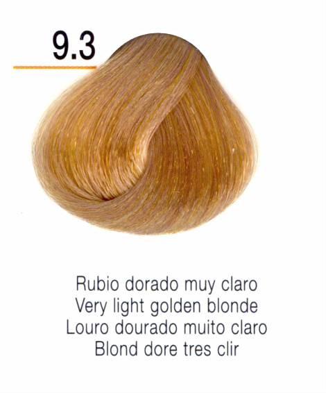 TINTE EN CREMA RISFORT COLOR RUBIO DORADO MUY CLARO