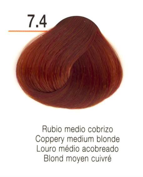 TINTE EN CREMA RISFORT COLOR RUBIO MEDIO COBRIZO