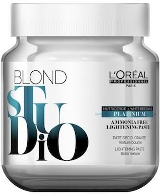 pasta decolorante platinium sin amoniaco loreal 500grs