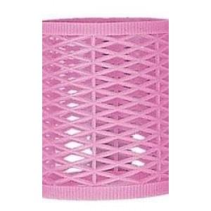 bucles rosa translucidos