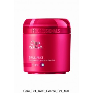 TRATAMIENTO WELLA BRILLIANCE MASK CAB. GRUESO 150ml