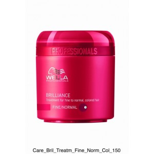 TRATAMIENTO WELLA BRILLIANCE MASK FINO/NORMAL 150ml