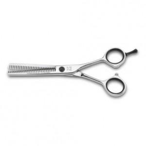 tijera peluqueria 3 claveles azabache entresacar 5,5