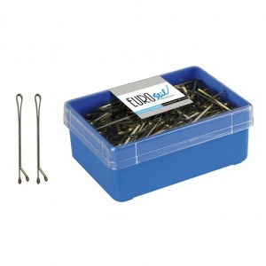caja 300 clips bronce pequeño