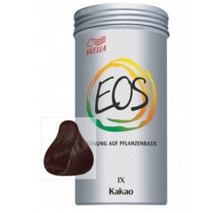 coloración natural EOS wella cacao