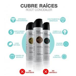 spray cubre raices negro