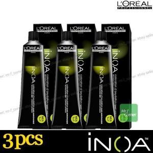 Colorante Inoa 3 Tubos 60 Gr L´Oréal Nº6.0