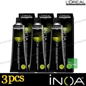 Colorante Inoa 3 Tubos 60 Gr L´Oréal Nº8