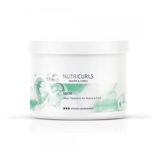 Mascarilla Nutri Curls Wella 500ml