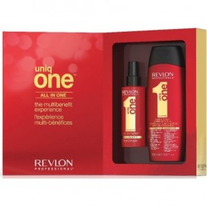 Pack Tratamiento 150ml + Champú 300ml Uniq One All In One Revlon