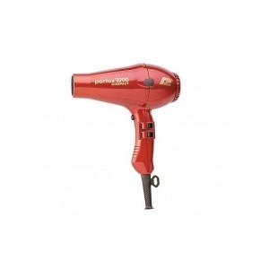 Secador Parlux 3200 Rojo Metalizado 1900w, 480 Grs.  2 Boquillas